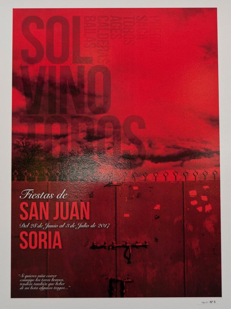Cartel Fiestas de San Juan 2017